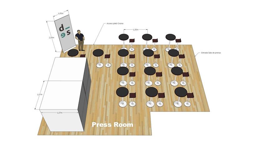Press room scheme