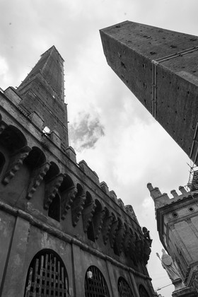 Due Torre of Bologna, Italy, May 2019