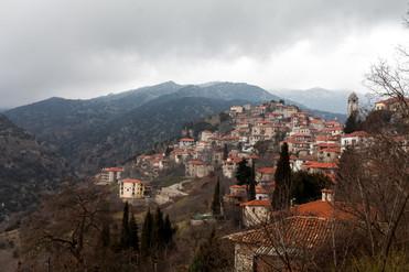 Dimitsana, Arcadia, Peloponnese, Greece, February 2019