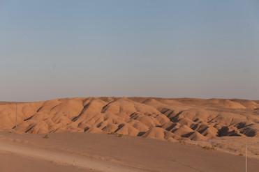 Maranjab desert, Isfahan Province, Iran, August 2019