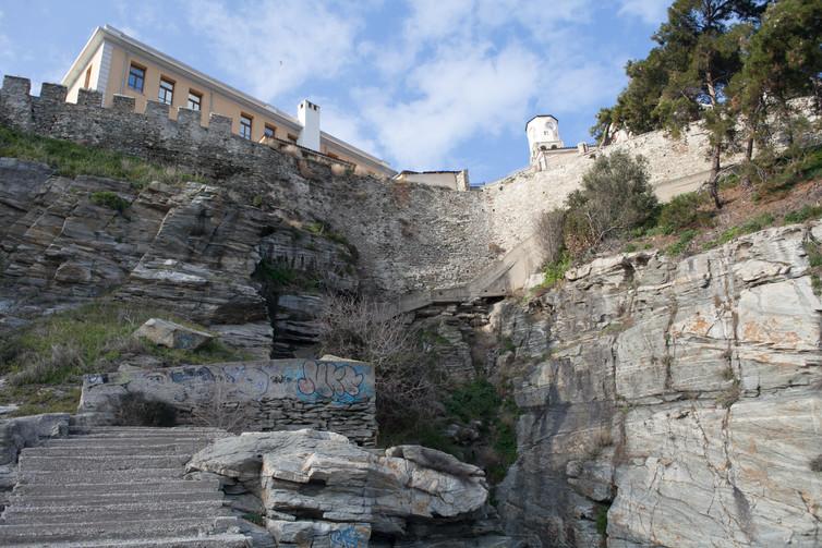 Cliffs of Kavala, Thrace, Greece, January 2018