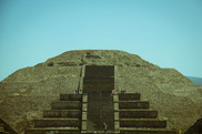 Pyramid of the Moon,  Teohotihuacan. Federal District of Mexico, Mexico, March 2015