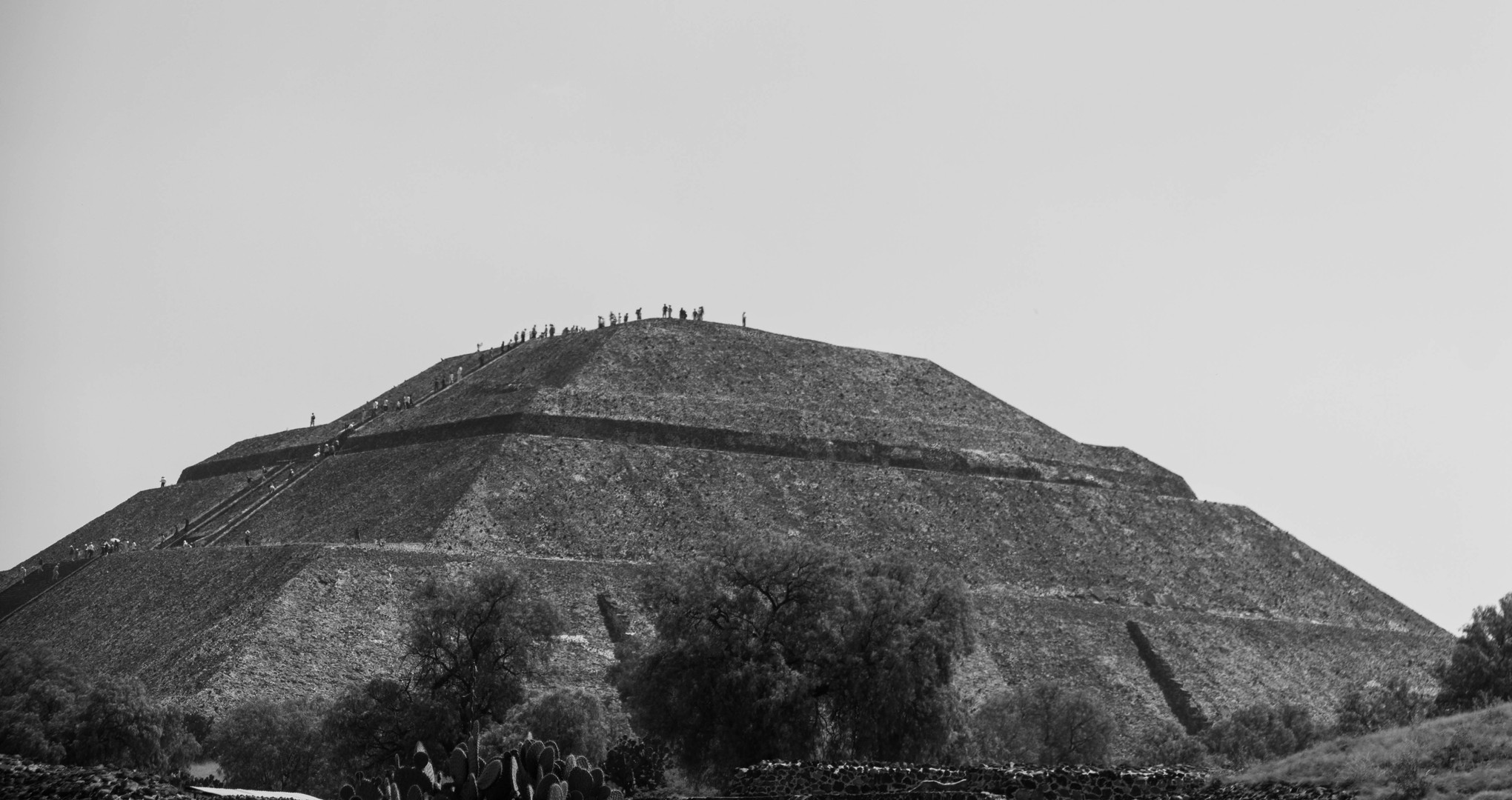 Pyramid of the Moon, Teotihuacan, Mexico, April 2015