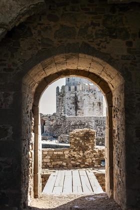To Methoni Castle, Messinia, Peloponnese, Greece, April 2019