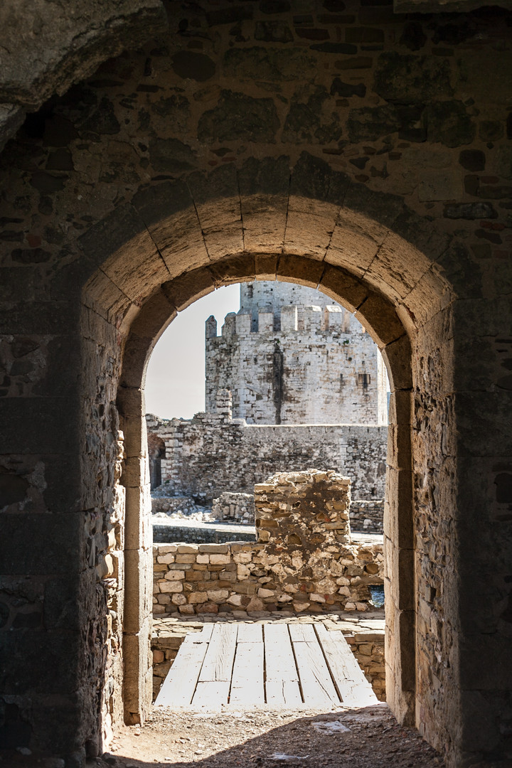 To Methoni Castle, Messinia, Peloponnese, Greece, April 2019