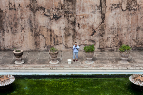 Water Palace, Yogyakarta, Java Island, Indonesia, August 2017