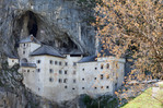 Castle of Predjama. Slovenia, May 2019