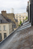 Roofs of Rennes, Brittany, France, July 2016