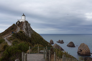 Nuggets Point Lighthouse, Catlins National Park, South Island, New Zealand, January 2017