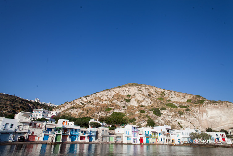 Klima, Milos, Cyclades, Greece, June 2019