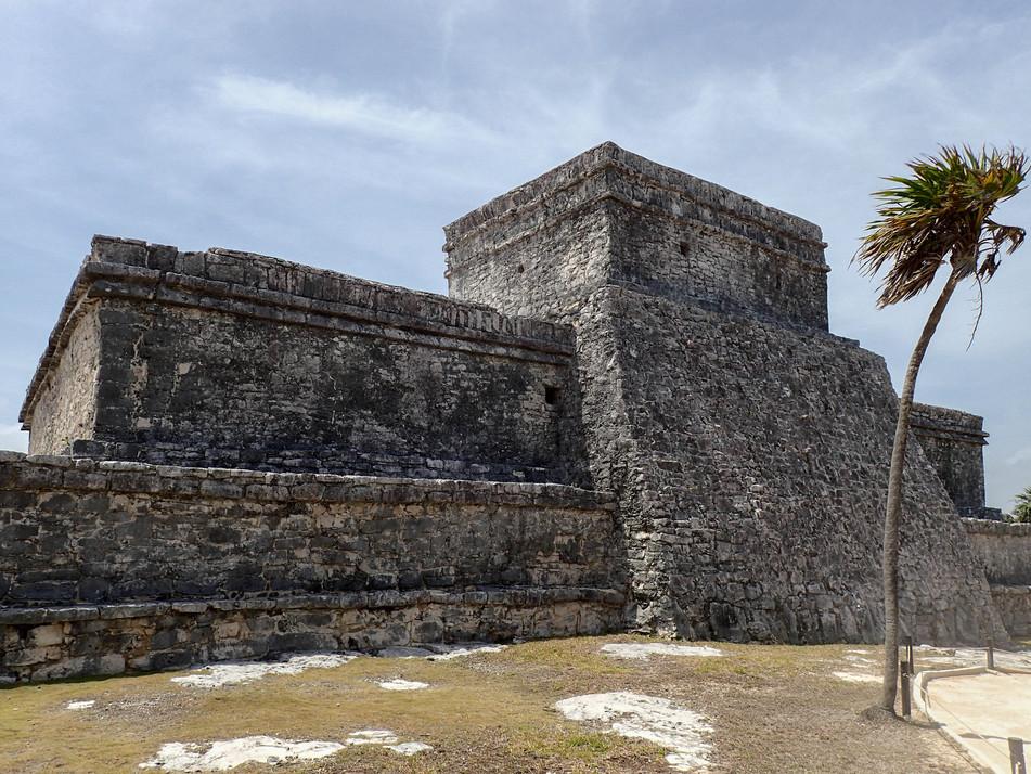 Pyramid of Tulum. Yucatan, Mexico, March 2015