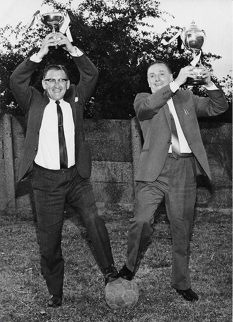 George Benton and Stan Burkinshaw low re