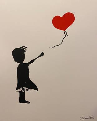 Banksy's 'Girl with Balloon' Print