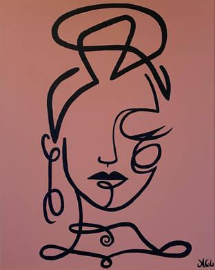 Boho Line Lady