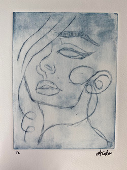 Woman's Face 2