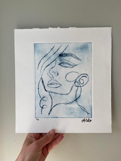 Woman's Face 1