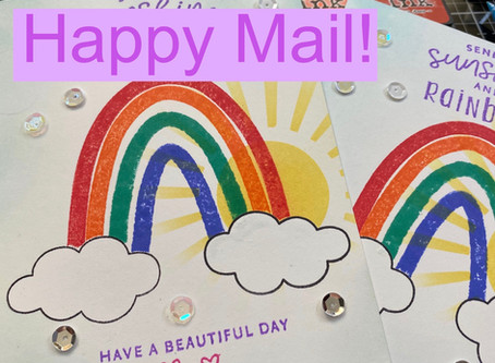 Rainbow Happy Mail!