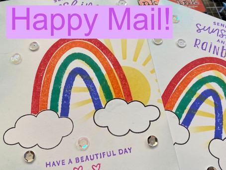 Rainbow Happy Mail!