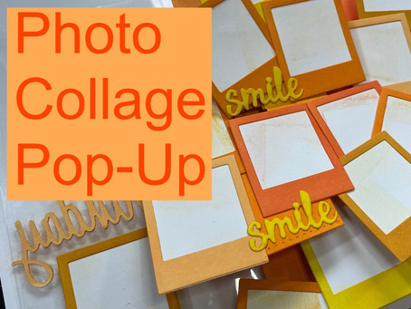 Photo Collage Pop-Up Birthday Card