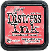 Abandoned Coral Distress Ink
