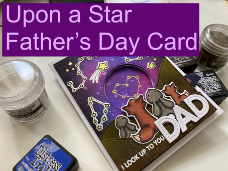 Upon a Star Father's Day Card