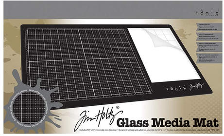 Tim Holtz Glass Media Mat