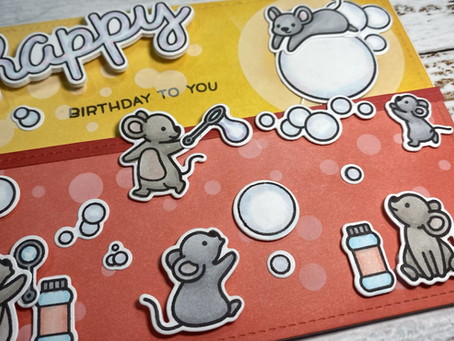 Bubble Galore Birthday Card
