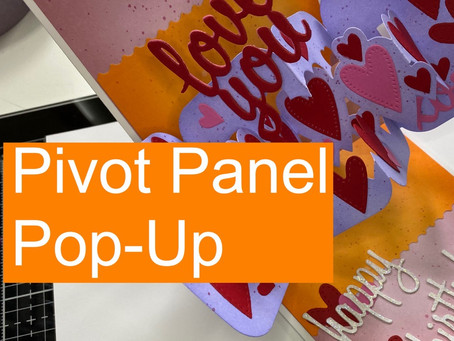 Pivot Panel Pop-Up Birthday Card