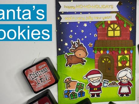 HOLIDAY CARD SERIES w/ Lawn Fawn: Santa's Magical Lawn