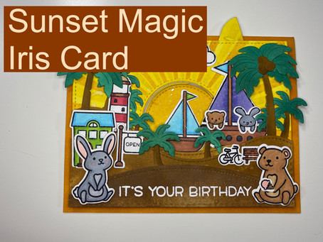 Sunset Scene Card