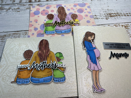A Mama's Love 3 Ways (Simon Says Stamp Mother's Day Cards)
