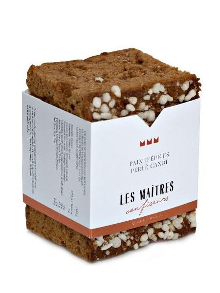 Les Maitres Perle Candi Gingerbread 220g