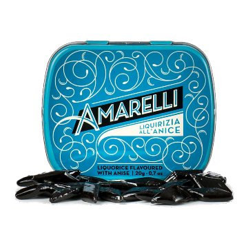 Amarelli Rombetti - Liquorice Flavoured with Anise 20g