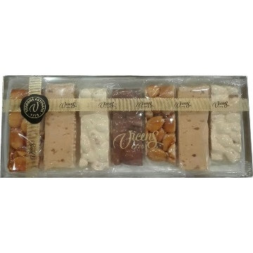 Torrons Assorted Portioned Nougat 7 x 35g bars