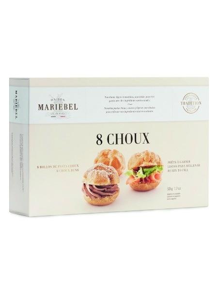 Mariebel 8 Choux Buns 50g