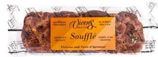 Torrons Vicens Hazelnut Souffle with Cho