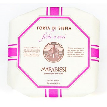 Marabissi Panforte with Fig and Walnut 100g