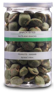 Nut n More Medium Peanuts - Wasabi 170g.