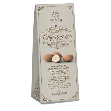 Mi Cu Marlanos Praline Chocolate Coated Almonds 80g Ballotin