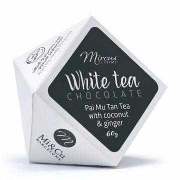 Mi Cu White Tea with Coconut & Ginger Chocolates 60g