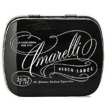 Amarelli Black Gluten Free 20g
