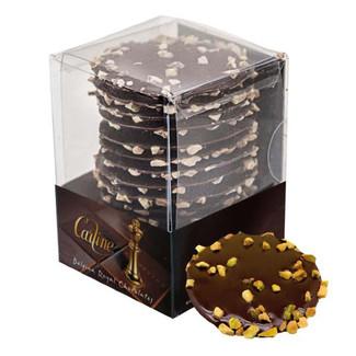 Carline Dark Chocolate and Pistachio Bri