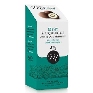 Mi Cu Mint and Liquorice Chocolates 80g