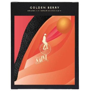 Naive Golden Berry Chocolate Bar 57g