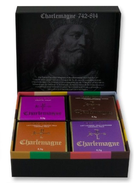 Charlemagne Black Gift Box Initiation of