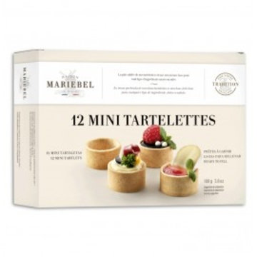 Mariebel 12 Mini Tartlets 108g
