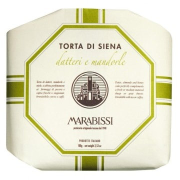 Marabissi Panforte with Date and Almond 100g