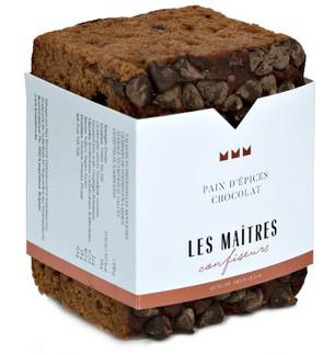 Les Maitres Chocolate Gingerbread 220g.j