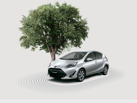 A car that makes plants grow