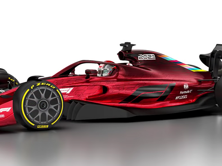F1 innovation for 2021 is awesome